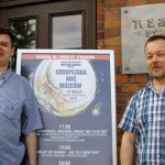 Od lewej: Tomasz Niewiadomski i Grzegorz Janusz